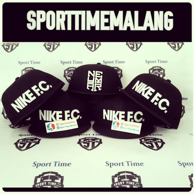 Nike F.C. Block True Snapback Cap Black Black White